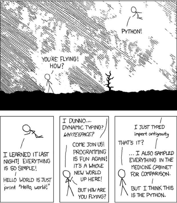 Python,from xkcd