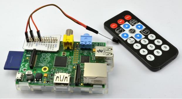 用红外线遥控器控制树莓派,作者八宝粥